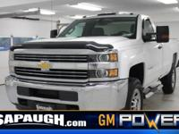 Summit White 2016 Chevrolet Silverado 3500HD Work Truck