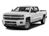Options:  2016 Chevrolet Silverado 3500Hd High