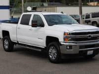 CARFAX One-Owner. White 2016 Chevrolet Silverado 3500HD