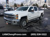 This Chevrolet Silverado 3500HD boasts a Turbocharged