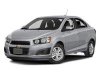 One Owner & Low Miles 2016 Chevrolet Sonic LS!