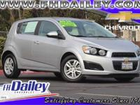 Options:  2016 Chevrolet Sonic Lt Silver 15 Painted