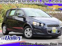 Options:  2016 Chevrolet Sonic Lt Blue Qualifies For