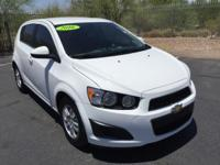 CARFAX ONE OWNER!! Sonic LT, 4D Hatchback in Summit