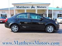 Come see this 2016 Chevrolet Sonic LT. Its Automatic