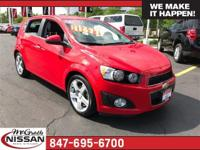 2016 Chevrolet Sonic LTZ CARFAX One-Owner.37/27
