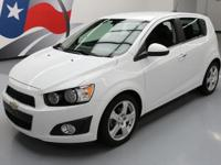 2016 Chevrolet Sonic with 1.4L Turbocharged I4