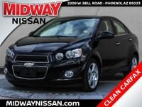 New Price!2016 Chevrolet Sonic LTZ Mosaic Black