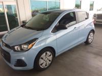 Spark LS, GM Certified, 4D Hatchback, 1.4L DOHC, CVT,