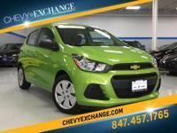 Options:  2016 Chevrolet Spark Ls Cvt|Lime|1.4L 4