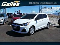 Come see this 2016 Chevrolet Spark LS. Its Manual