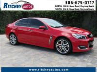 CERTIFIED PRE-OWNED 2016 CHEVY SS**CLEAN CAR FAX**LOW