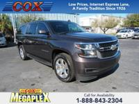 New Price! This 2016 Chevrolet Suburban LT in Slate