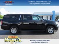 This 2016 Chevrolet Suburban LT in Black is well