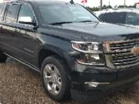 Black 2016 Chevrolet Suburban LTZ RWD 6-Speed Automatic