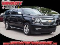 **HAGGLE FREE PRICING** Black 2016 Chevrolet Suburban