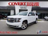 Spacious Chevrolet Suburban LTZ sport utility vehicle
