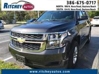 CERTIFIED PRE-OWNED CHEVY TAHOE LT 2WD**CLEAN CAR