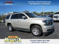 This 2016 Chevrolet Tahoe LT in Silver is well equipped
