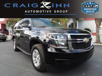 New Arrival! CarFax 1-Owner, This 2016 Chevrolet Tahoe
