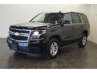 This 2016 Chevrolet Tahoe LT includes a backup sensor,