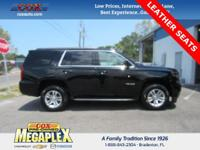 This 2016 Chevrolet Tahoe LT in Black is well equipped