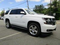 CARFAX One-Owner. Summit White 2016 Chevrolet Tahoe LT