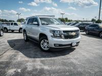 Clean CARFAX. Silver Ice Metallic 2016 Chevrolet Tahoe