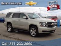 2016 TAHOE LT - Clean CARFAX One Owner - Certified