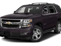 Options:  2016 Chevrolet Tahoe Lt|Miles: 30825Color: