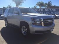 Options:  2016 Chevrolet Tahoe 4Wd 4Dr Lt Used|Silver