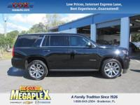This 2016 Chevrolet Tahoe LTZ in is well equipped with: