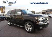 Options:  2016 Chevrolet Tahoe Ltz|4X2 Ltz 4Dr Suv|Be