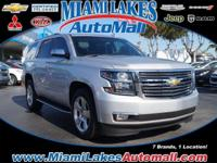 *** MIAMI LAKES CHEVROLET *** Leather. One owner love
