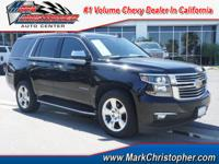 Chevrolet Certified. LTZ trim. Sunroof, Heated Leather
