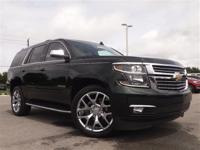 This One Owner, Low Mileage Tahoe LTZ is in Excellent