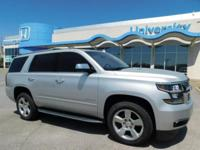 New Price! Silver Ice Metallic 2016 Chevrolet Tahoe LTZ
