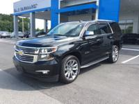 2016 Chevrolet Tahoe LTZ 4WD black with dune leather