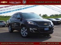 Black Metallic 2016 Chevrolet Traverse LT 1LT AWD