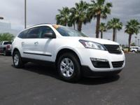 Look at this 2016 Chevrolet Traverse LS. Its Automatic