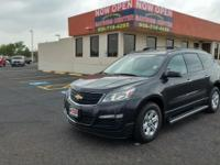 Check out this gently-used 2016 Chevrolet Traverse we