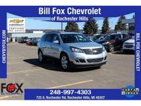 New Price! 2016 Chevrolet Certified. Traverse Silver