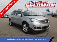 CALL FELDMAN CHEVROLET OF LANSING CARFAX One-Owner.