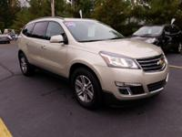 AWD. CARFAX One-Owner. 2016 Chevrolet Traverse LT Cloth