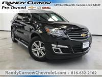 Options:  2016 Chevrolet Traverse Lt|Mosaic Black
