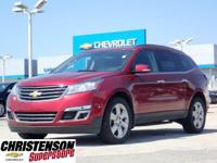 2016 Chevrolet Traverse LT w/1LT in Siren Red Tintcoat