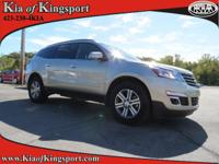 This 2016 Chevrolet Traverse LT will sell fast