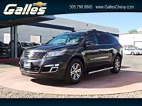 Safe and reliable, this 2016 Chevrolet Traverse LT AWD