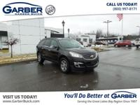 Introducing the 2016 Chevrolet Traverse LT w/2LT!