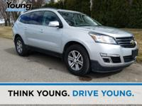 2016 Chevrolet Traverse. AWD, 4-Wheel Disc Brakes,